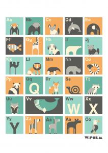ABC Affisch 3d Edition A3