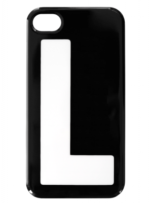 iPhone  4/4S fodral - Bokstaven L