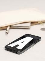 iPhone 4/4S fodral - Bokstaven D