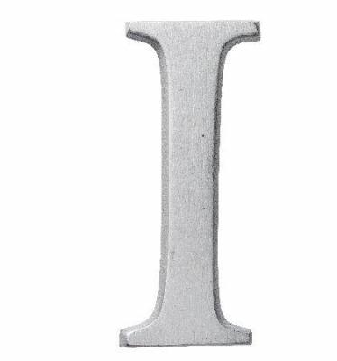 Aluminiumbokstav - Bokstaven I