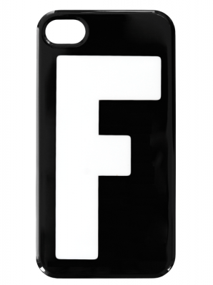 iPhone  4/4S fodral - Bokstaven F