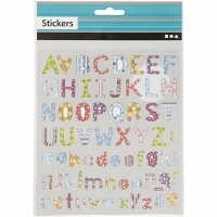 Fancy stickers ABC