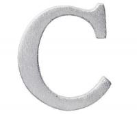 Aluminiumbokstav - Bokstaven C