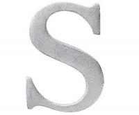 Aluminiumbokstav - Bokstaven S