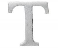Aluminiumbokstav - Bokstaven T