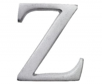 Aluminiumbokstav - Bokstaven Z