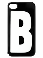 iPhone  4/4S fodral - Bokstaven B