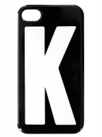 iPhone  4/4S fodral - Bokstaven K